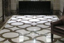 Entrance lobby floor design