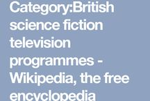 English sci-fi TV series