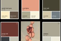Paint chips / Interior or exterior paint ideas