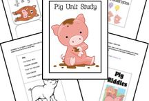 Preschool Homeschool: Farm Unit Ideas