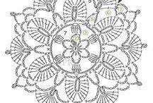 Crochet Pattern  多角形