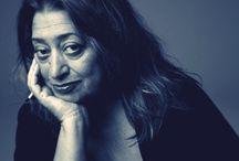 architekt Zaha Hadid ☆