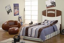 Theme: Football / by Kids Bedroom Decorating Ideas