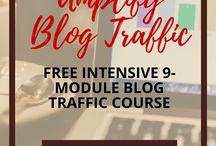 Free Courses for Bloggers / Free online courses to help you build, design and market your blog, including social media and email. For bloggers, freelancers and small businesses.