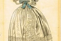 Historical fashion plates
