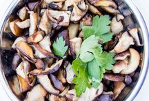 Mushrooms + Pinot Noir = Perfect Pairing / Mushrooms make for a delicious pairing with Pinot Noir and can also be enjoyed on their own.