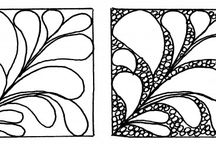 Zentangle patterns / If you want to learn to draw Zentangle drawings, these patterns from the website http://www.tangle-art.net ,and other sources, will help you !