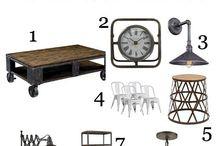 Industrial Style & Scandinavian style