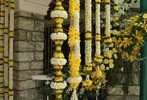 Indian weddings floral decorations