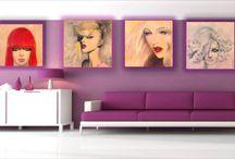 Videos Art / #popart, #acriliconcanvas, #popgirls