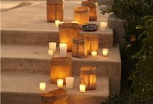 Candle Inspiration by Shelf Edge / Candles with a difference.......