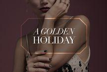 A Golden Holiday / gorjana Holiday 2014 Collection / by gorjana