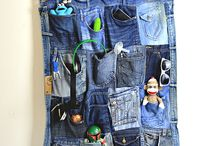Denim pockets