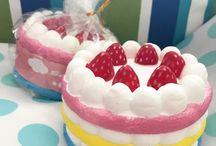 Squishie cakes