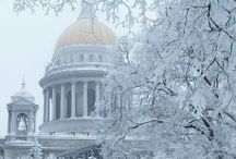 Spb in Winter / What winter is like in Saint Petersburg, Russia.