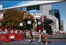 Running / by Carmen Churchill Hinman