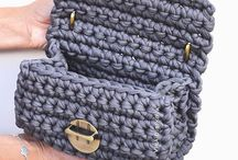 Сумочки и сумки из пряжи