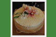 má práce / elegantní dorty