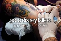 Disney/Gaming tattoo's / Tattoo's I find very beautifull and well set with tight lines and lot's of colour. Original idea's.