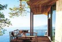 Террасы, балконы