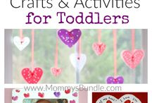 Valentines Day Activities for Kids / Valentines themed crafts recipes and activities for kids.