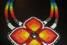 medallions / beaded medallion necklaces