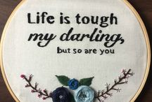 embroidery text