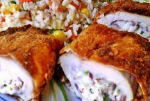 Csirkehúsos ételek