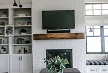 the modern farmhouse / Get rustic, traditional, and modern inspiration for your farmhouse style home.