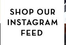 Shoptiques Shoppable Instagram Feed / www.shoptiques.com/look-books/shoptiques-shoppable-instagram-feed