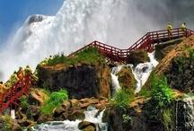 Amazing falls
