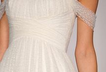 gowns in white