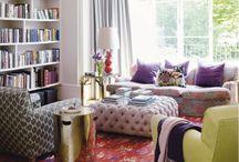 Living rooms, Fire places, Details