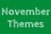 November Themes / Stone Soup, Remembrance Day, Transportation and Shapes