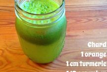 Juicing / These are my juice recipes that I drink every morning. I just put all the ingredients through the juicer and that's it! Hope you enjoy them.