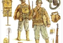 US WW2 uniforms