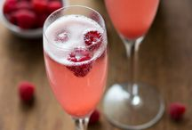 Festive drinks / Fruit punch, bubbly and chilled