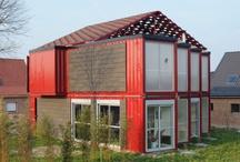 Contenedores / Uso de contenedores en edificaciones