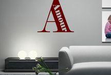 Stickers - Chambre Ado / Retrouvez ici un aperçu des stickers pour les chambres d'adolescents