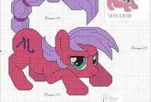 Borduurpatronen My Little Pony