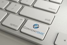 Content SME Branding / A collection of images we used across our site - all are copyrighted and property of Content SME