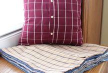Tyynyn päällinen,paidasta