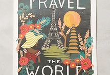 Gifts for Travel Lovers / Gift ideas for the hard to shop for traveler in your life.