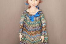Авторская кукла ручной работы, кукла интерьерная