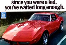 Old School Corvette Ads / by Zip Corvette Parts