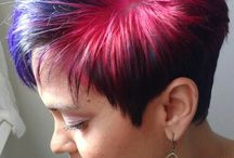Crazy colour / Hair colour