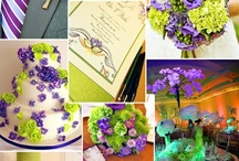 Purple & Green Wedding / All things Purple and Green!