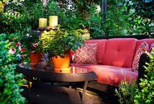 Home decorating garden