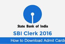 SBI Admit Cards Download / State bank of India(SBI) is the largest bank in India. It is one of the desired bank for the job in banking sector. If you have applied for SBI and waiting for you admit card then you can visit careerchamber.com. Careerchamber has all the updates related SBI jobs, result and admit cards as well as other jobs updates.