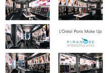 Boutique L'Oréal Paris / Hier à Paris, ouvrait la 1ère boutique L'Oréal dédiée aux produits cosmétiques de la marque. Une boutique connectée qui se veut être une expérience à chaque visite. Pour visualiser le projet, Philippe Ozouf de CBA Building a demandé à Piranèse de réaliser les images 3D de la boutique. Avec la plus grande minutie, nous avons créé des visuels des plus réalistes, retransmettant chaque jeu de couleur et de lumière. Découvrez notre travail mais aussi le rendu réel au 62 rue Caumartin !